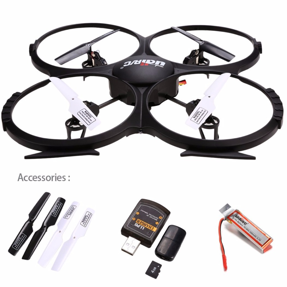 UDI U818A HD 2.4GHz 4CH 6 Axis Gyro Headless Mode RC Quadcopter Drone w/ HD 2MP Camera, Extra Battery and Return Home Function q929 mini drone headless mode ddrones 6 axis gyro quadrocopter 2 4ghz 4ch dron one key return rc helicopter aircraft toys