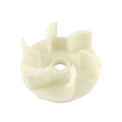 60mm External Dia 6 Vanes Plastic Impeller For Oil Pump