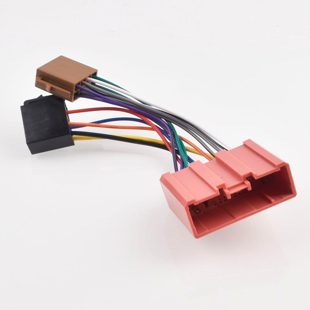 Автомобиль iso радио переходник электрический кабель для MAZDA 2 3 5 6 CX 7 MX 5 RX 8 Millenia Premacy Кабели, адаптеры и разъемы      АлиЭкспресс