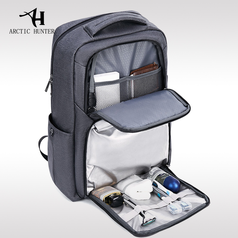 ARCTIC HUNTER New men's shoulder bag backpack male computer bag travel bag British fashion personality college bag backpack 2018 flb12084 hamburg s new fashion backpack shoulder bag college wind backpack schoolbag shoulder bag personality