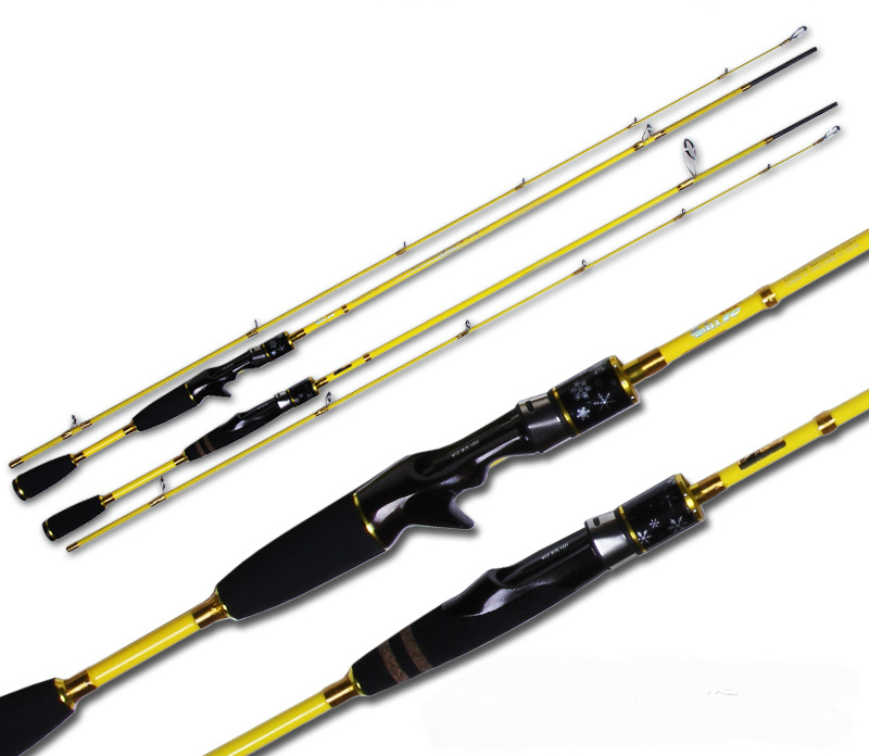 Lovers Lure Rod 2.13m Power Ml 2 Section Carbon Spinning Casting Lure Rod Many Beautiful Color