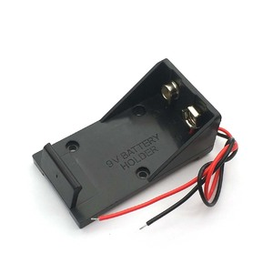 Image 2 - 9V Battery Clip Holder Case Box with Wire Leads DIY