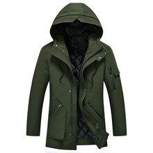 2018 зимние пальто новое поступление мужская куртка высокого качества парки Зимняя одежда мужские куртки на молнии теплая хлопковая стеганая куртка