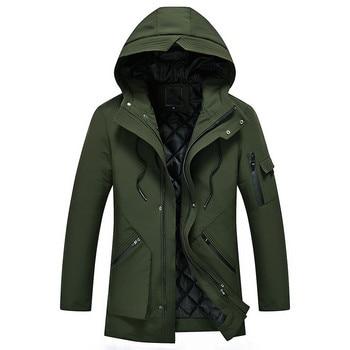 2018 winter coats New Arrival men's Male Jacket High Quality Parkas winter Clothing Men Jackets Zipper Warm Cotton-padded jacket