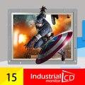 Промышленные 15 дюймов open frame ЖК-монитор с Высокой яркостью и контрастностью Digital Visual Interface