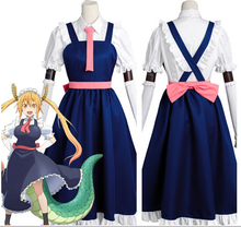 Anime Señorita Tohru Toru Kobayashi-san Dragón Maid Maid Cosplay Uniforme