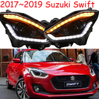 2 шт. бампер лампа для фара для Suzuki swift 2017 ~ 2019y автомобильные аксессуары Фара DRL swift задние фары Ходовые фары, противотуманные фары