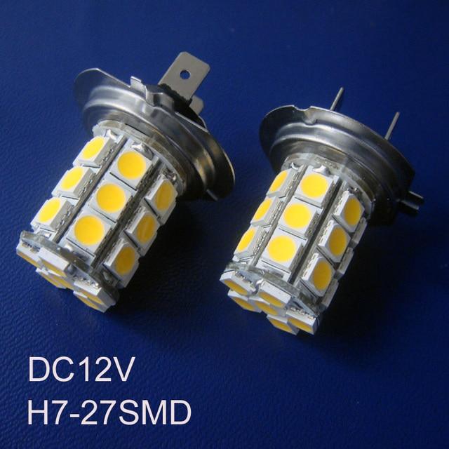 hoge kwaliteit 12v led h7 mist lampen h7 led auto led lampen h7 12vacdc