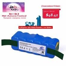6.4Ah 14.8 V Li-ion Batería para iRobot Roomba 500 Serie 600 700 800 980 510 530 550 560 585 561 620 630 650 760 770 780 870 880R3