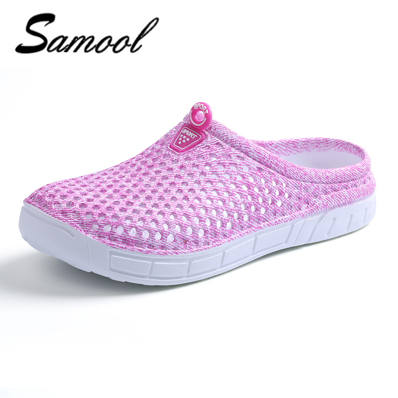 shoes women Summer Slippers women Hollow Out Hole shoes Breathable Sandals light Casual Beach Shoes Soft Comfort sapatos xxz5 classic breathable flower women shoes summer casual women beach mesh shoes women casual massage walking sapatos femininos