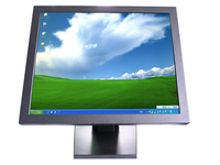 19 Desktop Touch Monitor Usb Infrared Lcd Touch Screen Monitor With VGA For Interactive Display