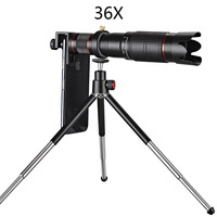 36 x mobile phone telephoto lens, universal optical lens for cell phone