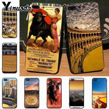 Carcasa clásica para iPhone 7plus, X, 6, 6S, 7, 8Plus, 5S y 11pro de Yinuoda