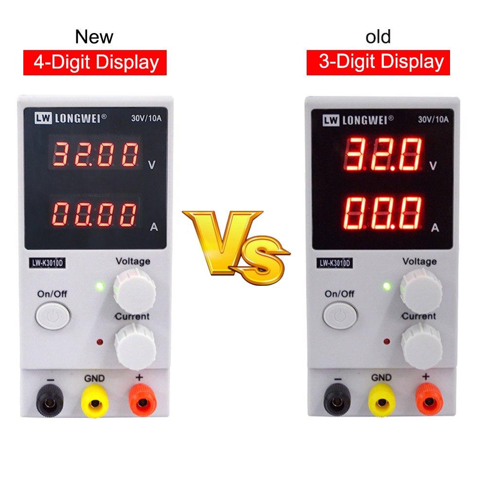 LW 3010D laboratoire réglable DC alimentation 30V 10A 4 chiffres affichage réglable commutation alimentation ordinateur portable téléphone réparation - 2