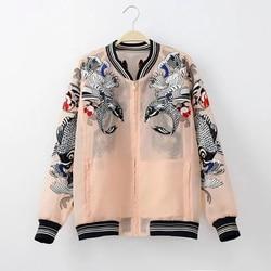Women bomber font b jacket b font 2016 new fashion font b transparent b font organza.jpg 250x250