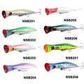 Noeby NBL9248 leurre dur de pêche grand leurre Popper de bouche 200mm/115g Long leurre de pêche à la traîne