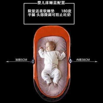 European Style Baby Stroller  High Landscape Newborn pram  High Quality Luxury Umbrella carts Light Folding Baby Carriage 2