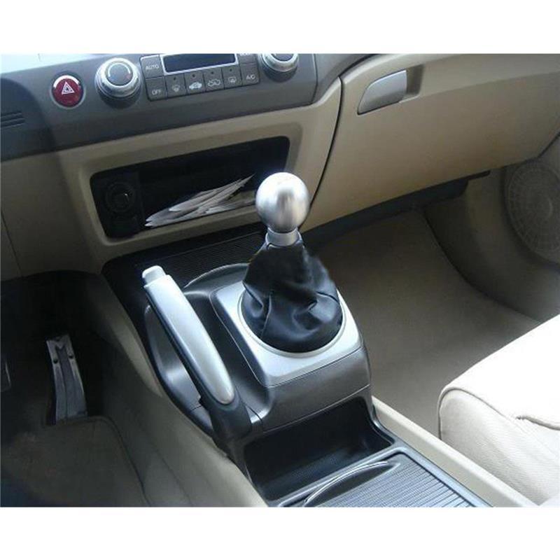 Partol 5 Speed Gear Shift Knob Ball JDM Racing Shifter Knob Aluminum Round For Honda Civic Manual Transmission Lock Nut Billet 20