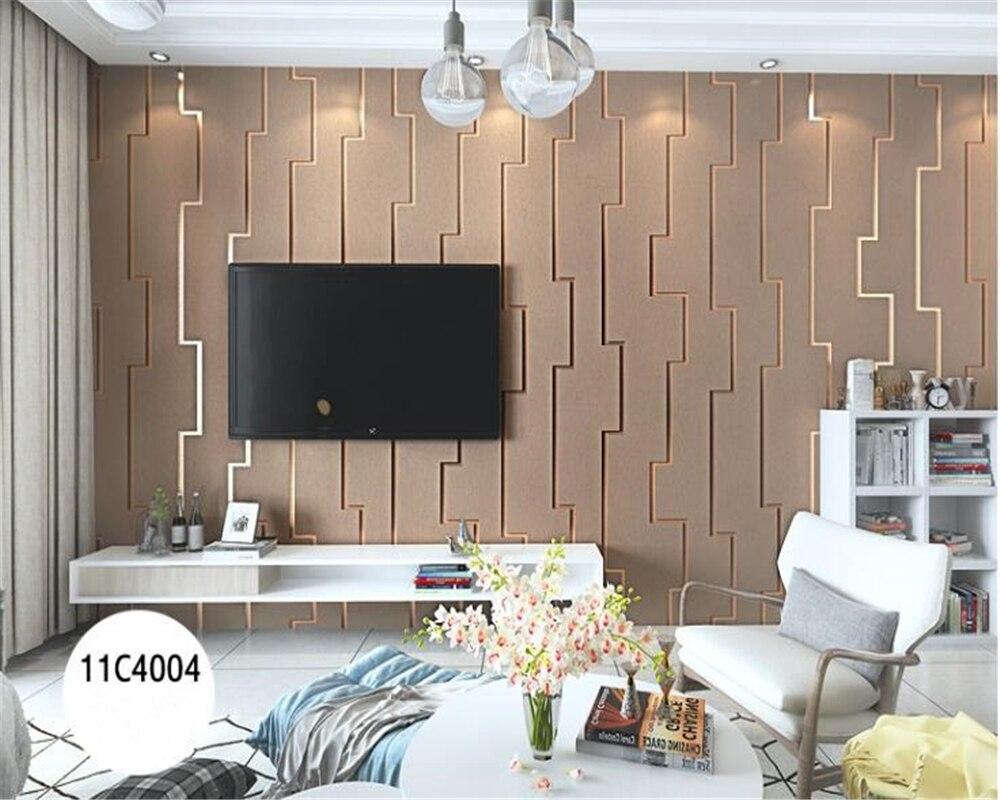 100% Wahr Beibehang Moderne Minimalistischen Wohnzimmer Hintergrund Wand Papers Home Decor Ostereo Persönlichkeit Raum Mode Hirschleder 3d Tapete