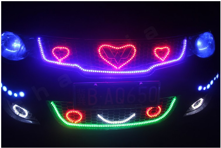 Free shipping car led strip motorcycle bike decoration waterproof free shipping car led strip motorcycle bike decoration waterproof flexible led strip light diy led dc12v 48cm in car light assembly from automobiles aloadofball Choice Image