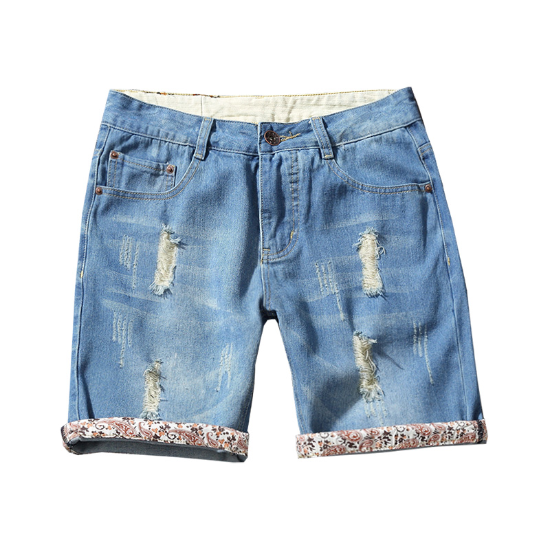 Men Shorts Distress White Promotion-Shop for Promotional Men ...