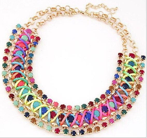 maxi necklace bohemian