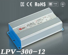 300W 12V 25A LED constant voltage waterproof switching power supply IP67 for led drive LPV-300-12 цены