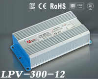 300W 12V 25A LED tensione costante impermeabile di commutazione di alimentazione IP67 per led drive LPV-300-12