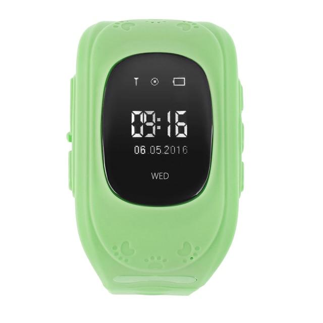 Quente q50 gps smart kid safe smart watch sos chamada local Monitor de localizador Localizador Rastreador para Criança Anti Perdido Bebê Filho de Pulso