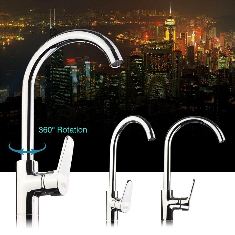 New bath Basin Kitchen Mixer Faucet Copper Sink 360 Degree Tap Bathroom Basin Tap