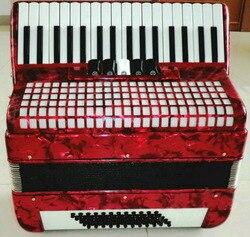 Nova marca 60 bass 34 chave 5 swift acordeão com saco e dois alça de ombro piano acordeão