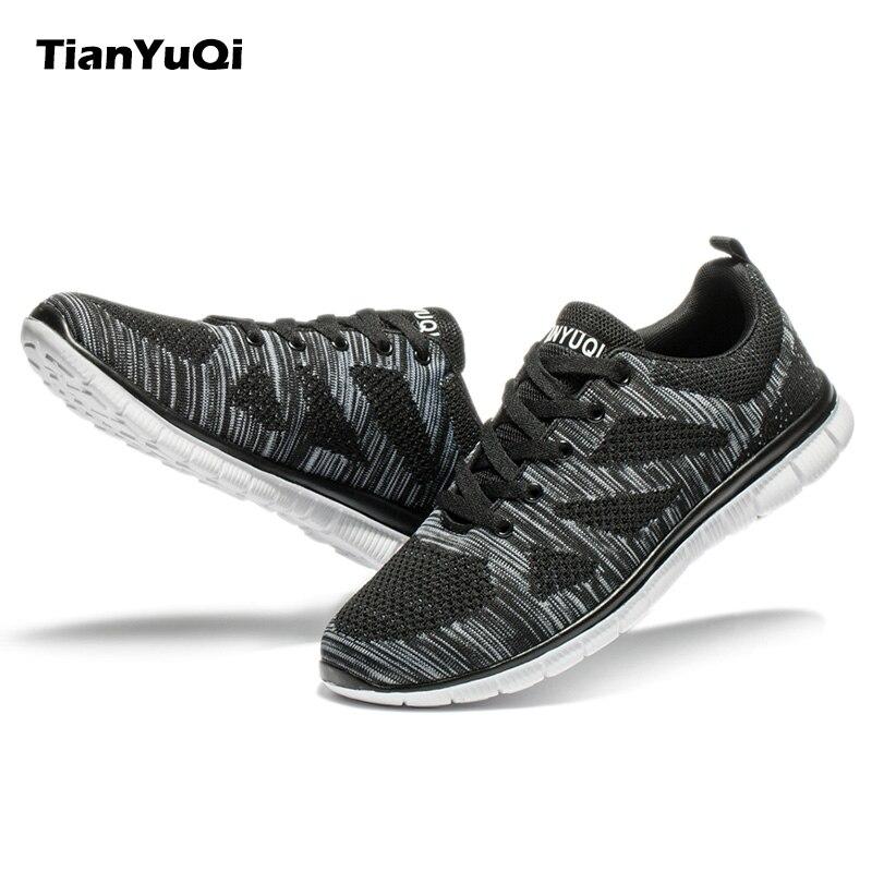 TianYuQi 2017 Hombres Zapatos Casuales Zapatos Transpirables Cómodo Suave Súper