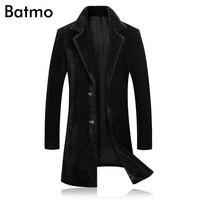 BATMO 2018 Новое поступление Зима Высокое качество thicked теплая Повседневная плащ для мужчин, мужская зимняя куртка, Мужская Куртки 8455