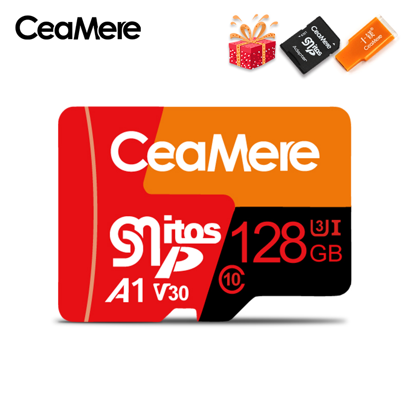 Image 2 - CeaMere Micro SD Card  Class10 UHS 1 8GB Class6 16GB/32GB U1 64GB/128GB/256GB U3 Memory Card Flash Memory Microsd for Smartphone-in Memory Cards from Computer & Office