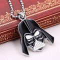 Hot Sale Star Wars Darth Vader Helmet Pendant Necklaces For Women Men Jewelry Superhero Beads Chain Long Necklace Dropshipping