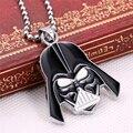 Venda Hot Star Wars Darth Vader Capacete Pingente Colares Para As Mulheres Homens Jóias Superhero Contas de Cadeia Longa Colar Dropshipping