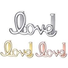 HOMOD Hots 10mm Cute Hollow Love Slide Charms for Brand Bracelet Mesh Bracelets DIY Accessories Making