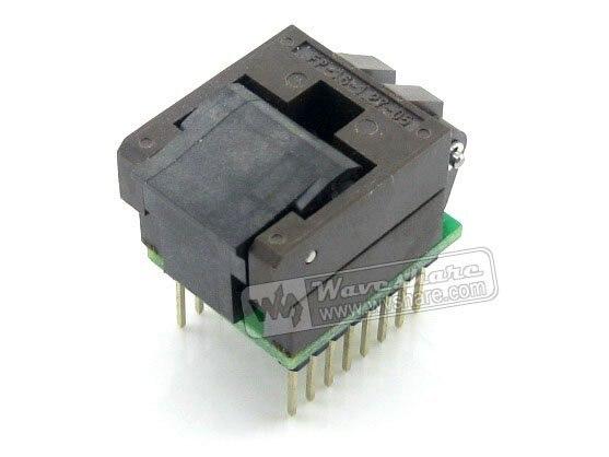 все цены на  SO16 SOIC16 SOP16 TO DIP16 (B) Enplas IC Programming Adapter Test Burn-in Socket 1.27mm Pitch  онлайн
