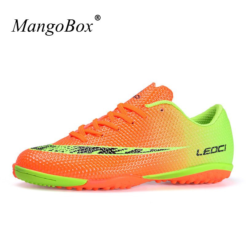 20c7760527ed Online Shop Hot 2017 Soccer Shoes Original Football Cleats Men Kids Soccer  Trainers For Artificial Turf Shoes Boys Children Trainers