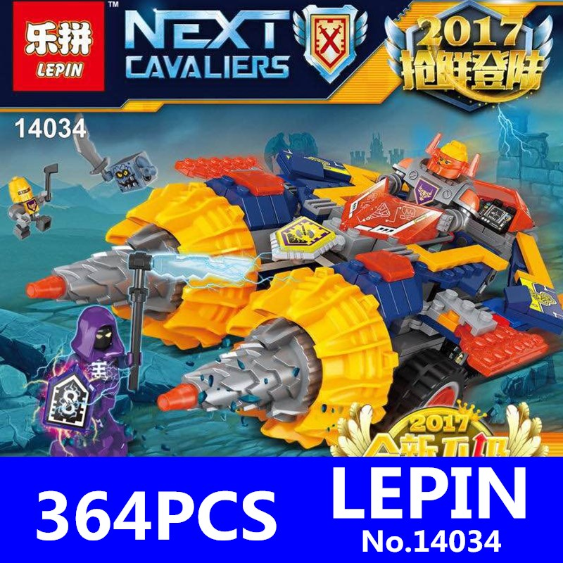Second Half of the Latest Future Knights Model 2017 New PEIN 14034 364Pcs Building Blocks Bricks Kits Educational Children Toys jeff lemire the new 52 future s end vol 1