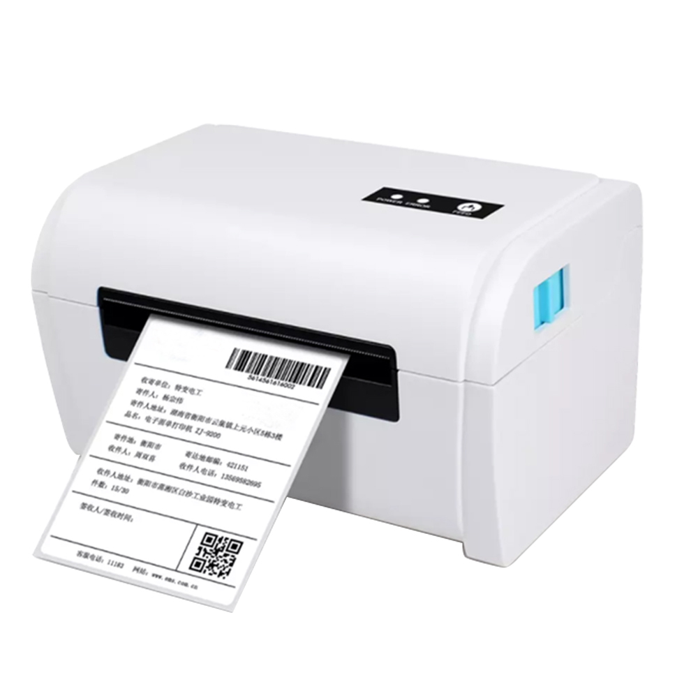 GZ Weiou Thermal Barcode Label Printer With Label Holder– Compatible With Amazon Ebay Etsy Shopify 4×6 Shipping Label Printer