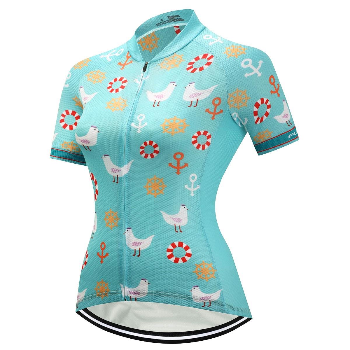 Fualrny Илиана Для женщин 100% полиэстер 2018 новые дышащие велосипед одежда летняя УФ Велосипедная форма Ropa Ciclismo Vélo