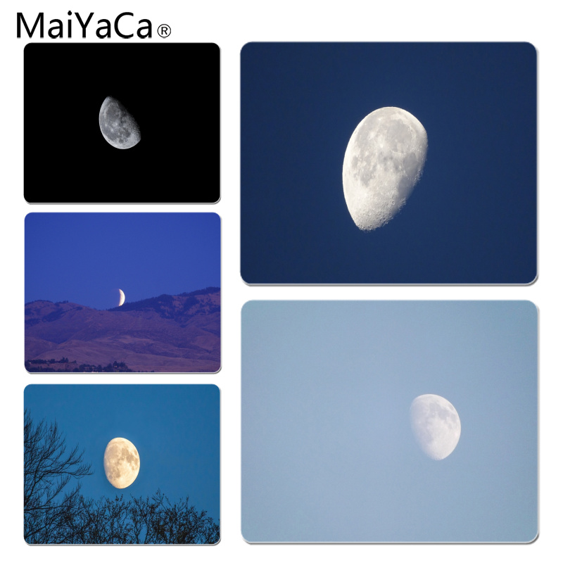 MaiYaCa New Arrivals The moon in the sky Customized laptop Gaming mouse pad Size for 18x22cm 25x29cm Small Mousepad