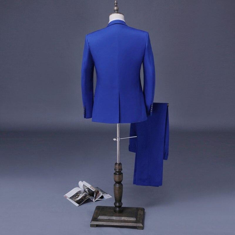 Royal Blau Bräutigam Anzüge Nach Maß Zweireiher Smoking 3 stücke Hochzeit Anzüge Für Männer Trauzeuge Anzüge Anzüge-in Anzüge aus Herrenbekleidung bei  Gruppe 2