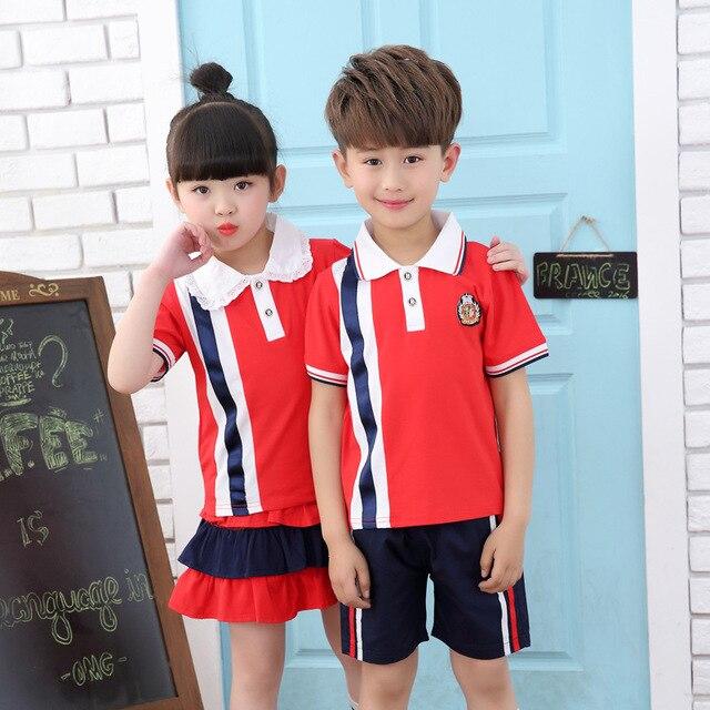 6a6357811 Ropa de verano para bebé Unisex niños trajes deportivos para niños niñas  Corea diseñador niños camisetas