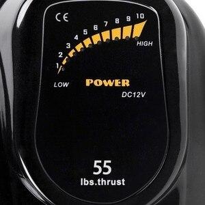 Image 5 - Motor de arrastre de 55 lbs y 12V, Motor de pesca, Motor fueraborda, piezas gratuitas de 100% de garantía completa