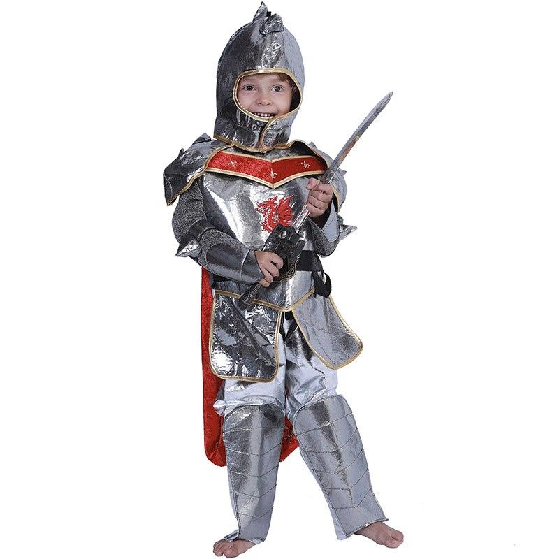 Knight Costume Kids Medieval Halloween Fancy Dress
