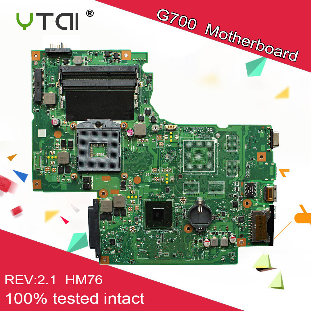 PGA 988 motherboard for Lenovo G700 motherboard BAMBI mainboard REV 2 1 HM76 USB3 0 11SN0B5M11