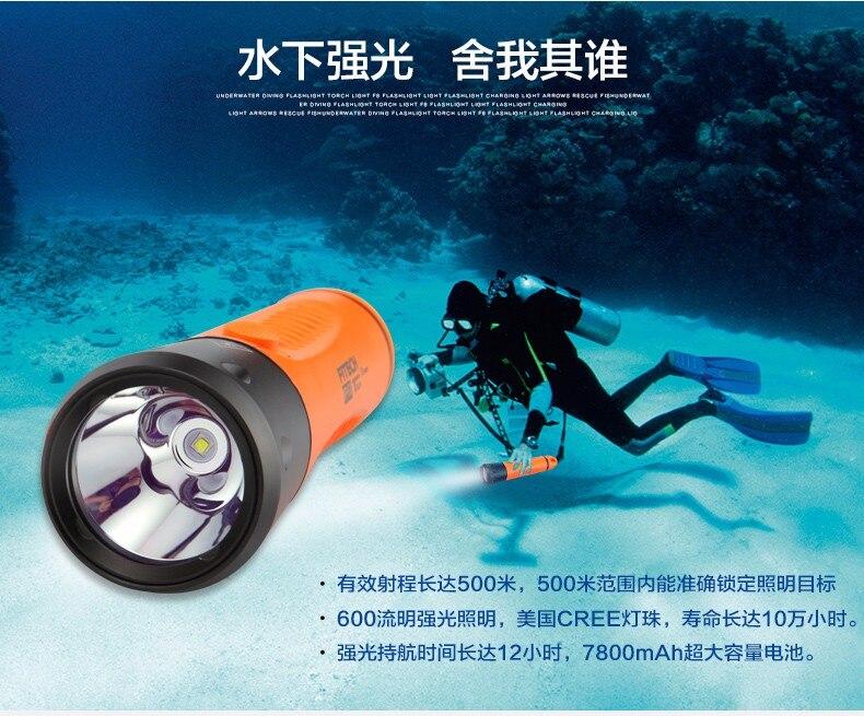 Nova fitech f8 carregamento profissional mergulho tiros