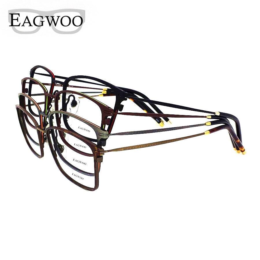 Titan Brillengestell Vintage Nerd Big Size Optische Rahmen Rezept - Bekleidungszubehör - Foto 4